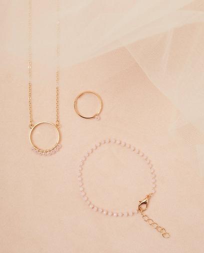 Set van halsketting en armbandje
